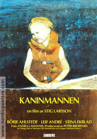 Kaninmannen 1992 poster Börje Ahlstedt Stig Larsson