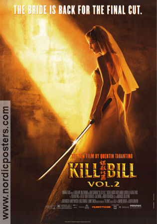 Kill Bill vol 2 2004 poster Uma Thurman Quentin Tarantino