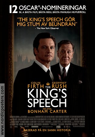 The King's Speech 2010 poster Colin Firth