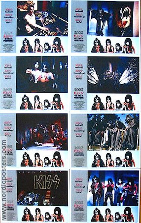 Kiss Meets the Phantom of the Park 1978 lobbykort Kiss
