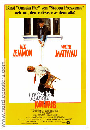 Kompis kompis 1981 poster Jack Lemmon Billy Wilder
