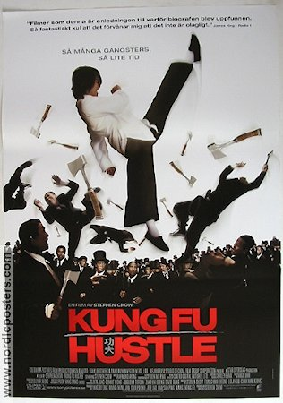 Kung Fu Hustle 2005 poster Stephen Chow