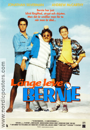 Länge leve Bernie 1989 poster Andrew McCarthy