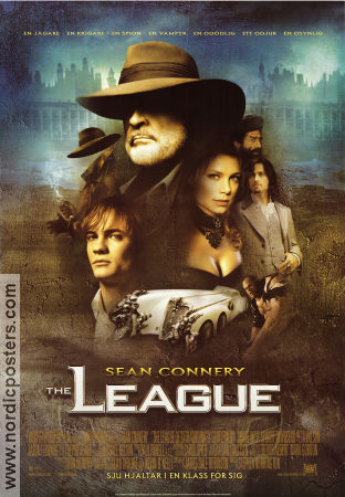 The League 2003 poster Sean Connery