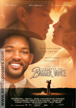 The Legend of Bagger Vance 2000 poster Will Smith Robert Redford