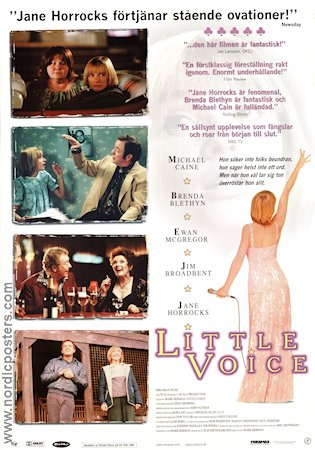 Little Voice 1998 poster Michael Caine