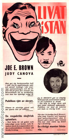 Livat i stan 1945 poster Joe E Brown