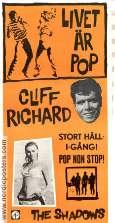 Livet är pop 1965 poster Cliff Richard