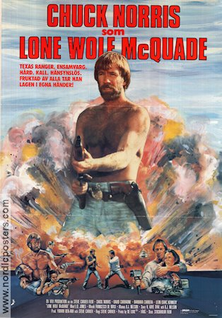Lone Wolf McQuade 1983 poster Chuck Norris
