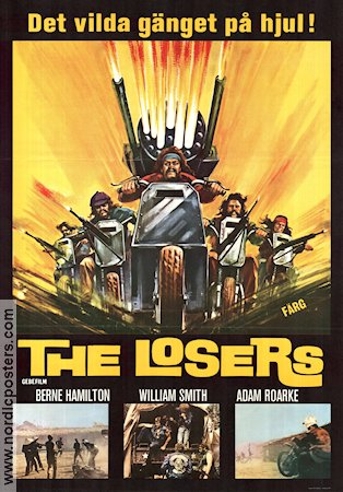 The Losers 1971 poster William Smith
