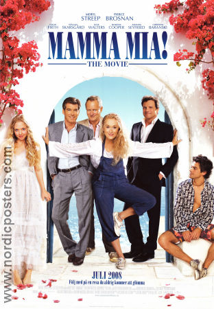 Mamma Mia the Movie 2008 poster Meryl Streep