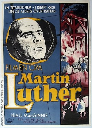 Martin Luther Poster 70x100cm FN original