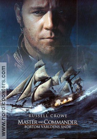 Master and Commander 2003 poster Russell Crowe Peter Weir