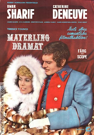 Mayerlingdramat 1968 poster Omar Sharif Terence Young