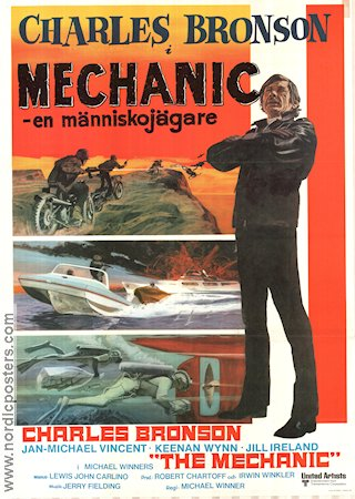 The Mechanic 1973 poster Charles Bronson