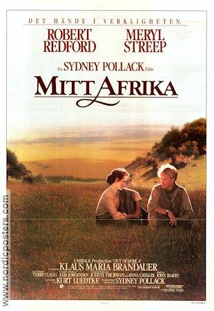 Filmaffisch Mitt Afrika