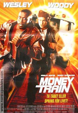 money train 1995 money train poster 70x100cm nyskick rullad ro