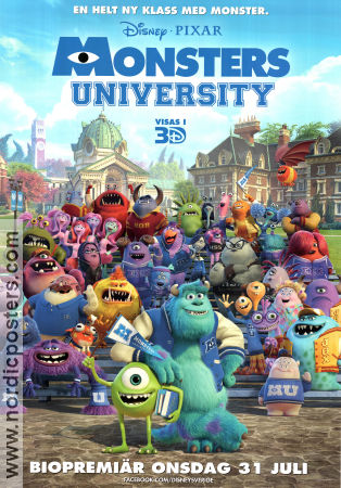 Monsters University 2013 poster Dan Scanlon