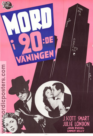 Mord i 20e våningen 1951 poster J Scott Smart William Castle