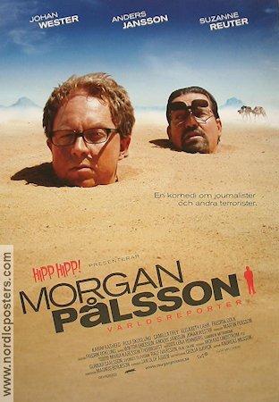 Filmaffisch Morgan Pålsson världsreporter