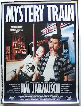 Mystery Train 1989 poster Screamin´ Jay Hawkins Jim Jarmusch