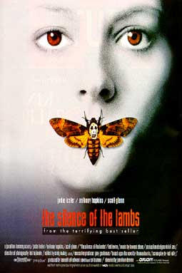 Movie Poster Silence of the Lambs 1990 Swedish