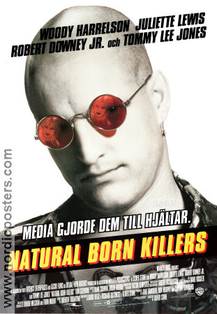Natural Born Killers 1994 poster Woody Harrelson Oliver Stone