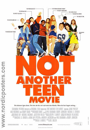 Not Another Teen Movie 2001 poster Chyler Leigh Joel Gallen