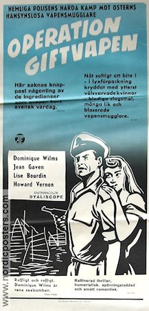 Operation giftvapen 1958 poster Dominique Vilms