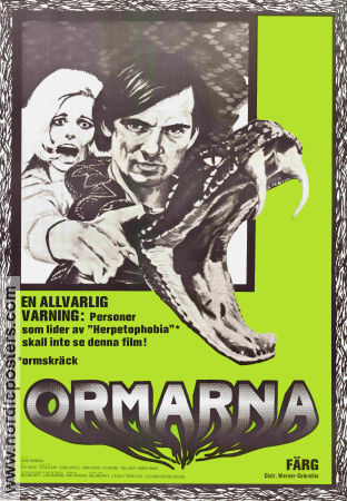Ormarna 1972 poster Chris Robinson William Grefe