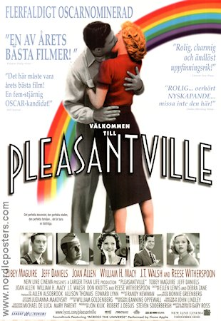 Pleasantville 1998 poster Tobey Maguire Gary Ross