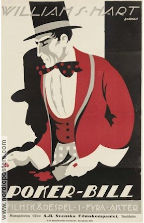 Poker-Bill 1917 poster William S Hart