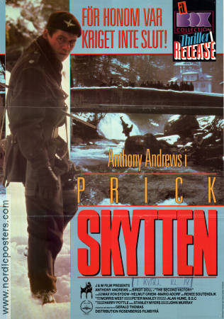 Prickskytten 1986 poster Anthony Andrews Gerald Thomas