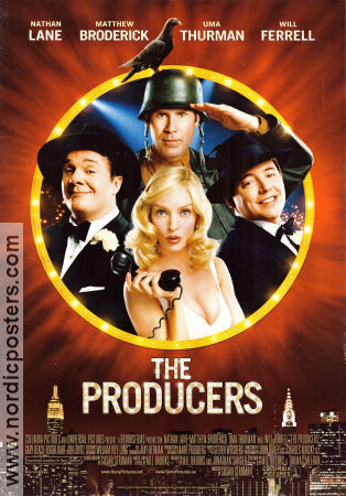 The Producers 2005 poster Nathan Lane