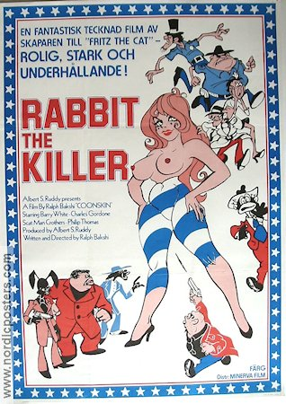 Rabbit the Killer 1975 poster Barry White Ralph Bakshi