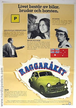 Raggaråket 1978 poster Michael Thornhill