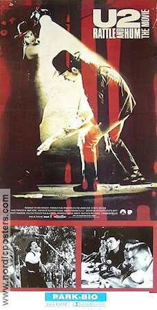 Rattle and Hum 1988 poster