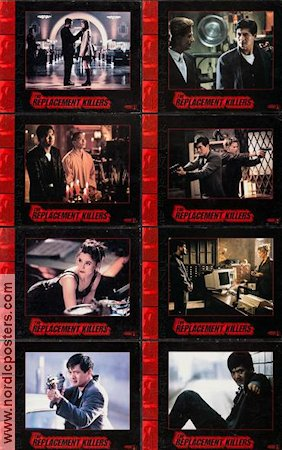 The Replacement Killers 1996 lobbykort Chow Yun Fat