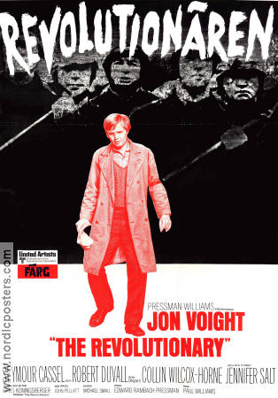 Revolutionären 1970 poster Jon Voight Paul Williams