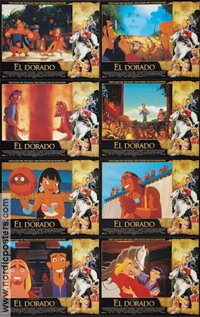The Road to El Dorado 2000 lobbykort