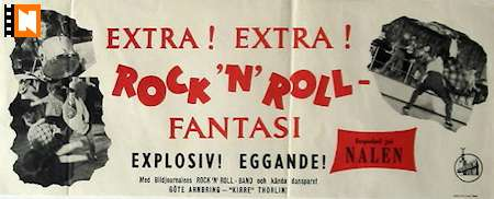 Rock n Roll-fantasi 1955 poster