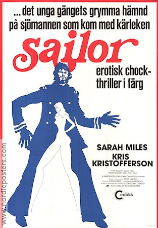 The Sailor Who Fell From Grace 1976 poster Sarah Miles