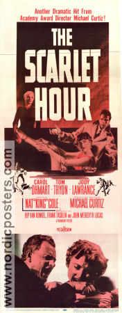 The Scarlet Hour 1956 poster Carol Ohmart Michael Curtiz