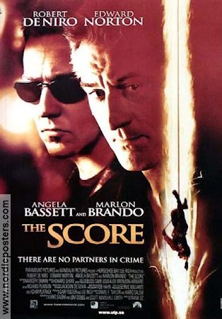 The Score 2001 poster Robert De Niro