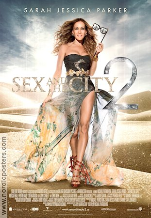 Sex and the City 2 2010 poster Sarah Jessica Parker