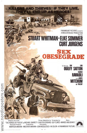 Sex obesegrade 1969 poster Stuart Whitman Jean Negulesco