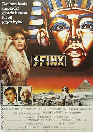 Sfinx 1981 poster Lesley-Anne Down