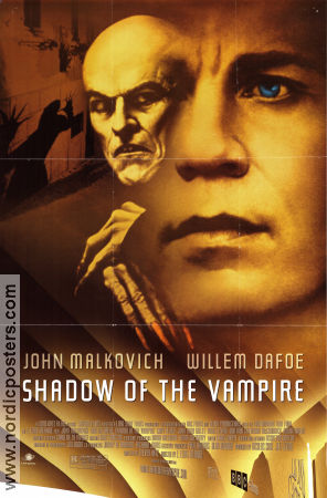 Shadow of the Vampire 2000 poster John Malkovich E Elias Merhige
