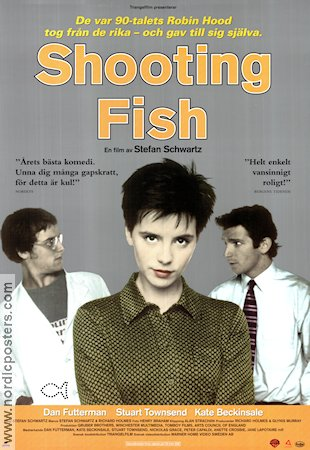 Shooting Fish 1997 poster Kate Beckinsale Stefan Schwartz