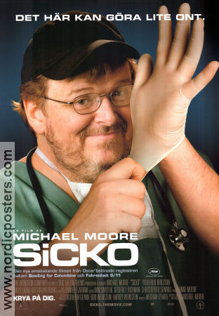 Sicko 2007 poster Michael Moore